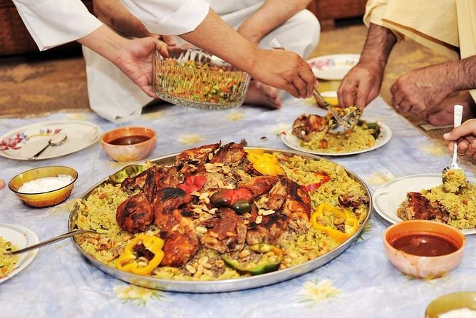 Authentic Dinner with Omani Family