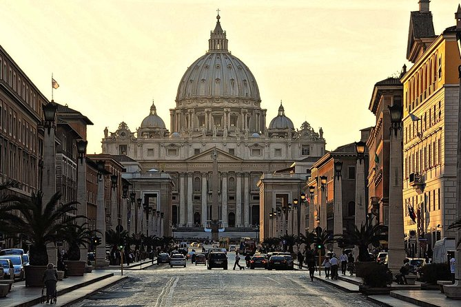 Christian Rome Four Major Basilicas Lunch Included Fullday from Rome