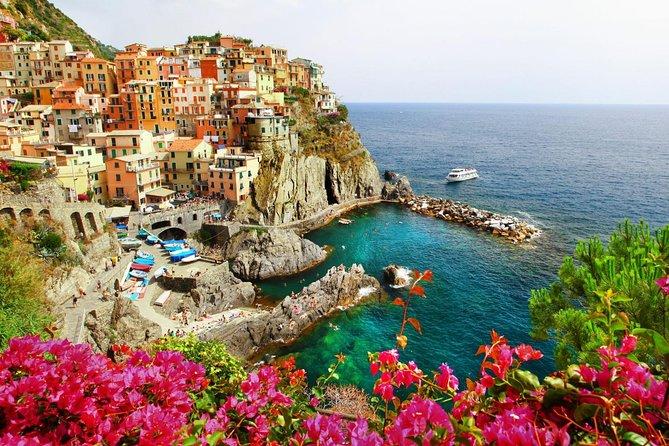 Cinque Terre with Vernazza Manarola and Corniglia from Livorno Cruise Port