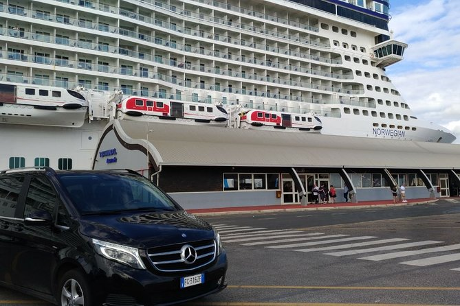 Transfer Civitavecchia Port to Fiumicino FCO Airport with 3 hours Rome Tour