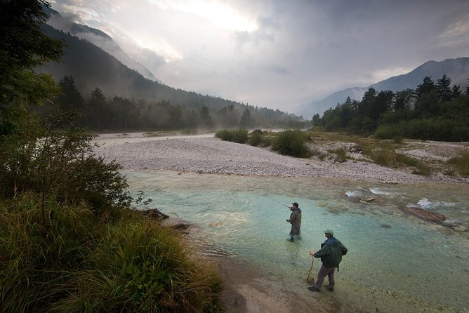 Guided fly fishing on Sava with Rok Lustrik