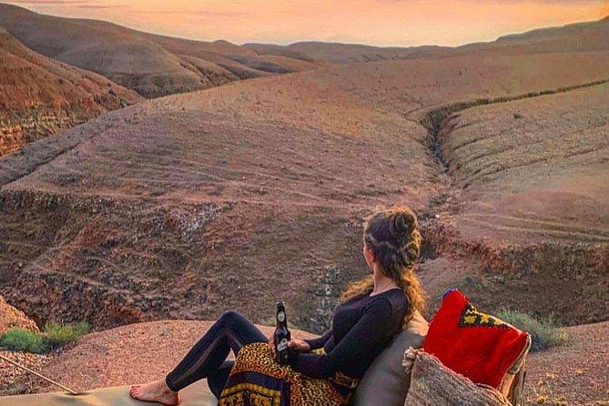 Ruel Agafay Desert & Original Three Valley Guided Tour From Marrakech