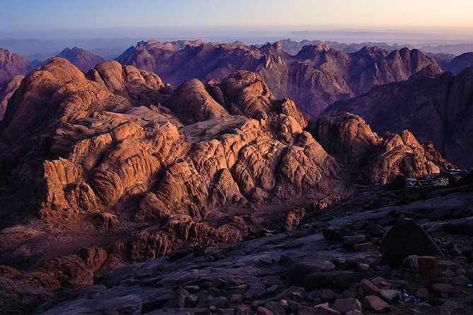 Day tour St Catherine Monastery and Mount Sinai in Egypt
