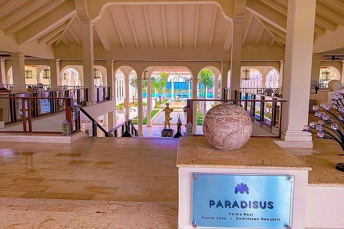 Punta Cana (PUJ) to PARADISUS PALMA REAL GOLF RESORT ROUND TRIP