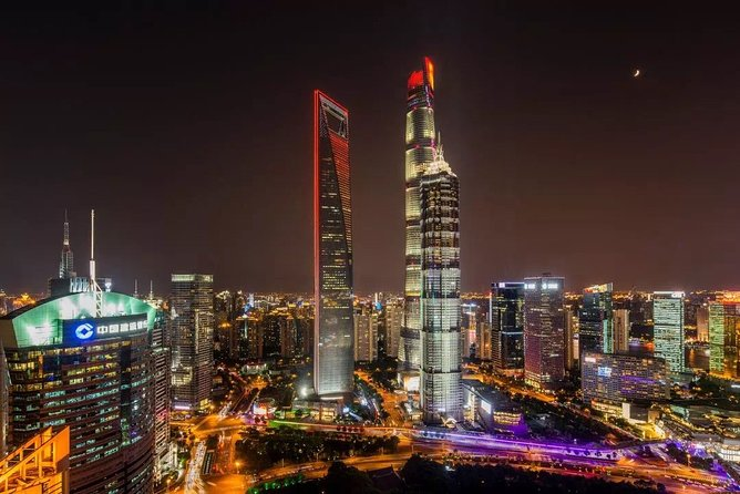 Shanghai Private Night Tour: Shanghai Tower, Bund, Yuyuan Bazaar