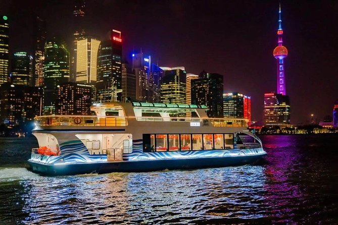 Shanghai by Night: VIP River Cruise and Dim Sum Dinner