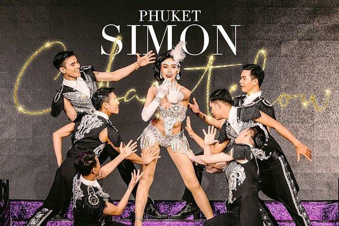 Phuket Simon Cabaret Show (VIP) with Roundtrip Transfer