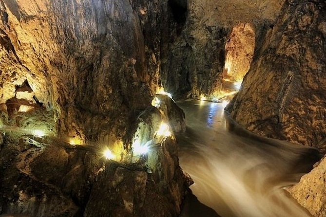 Skocjan Caves Shared Tour From Koper