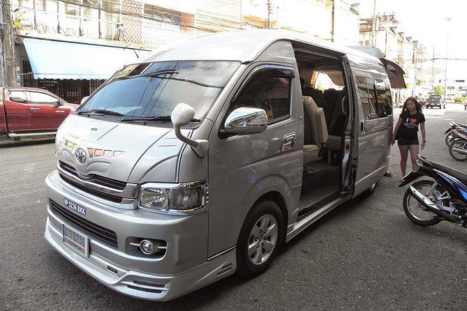 Krabi To Hat Yai by Air-conditioner Van