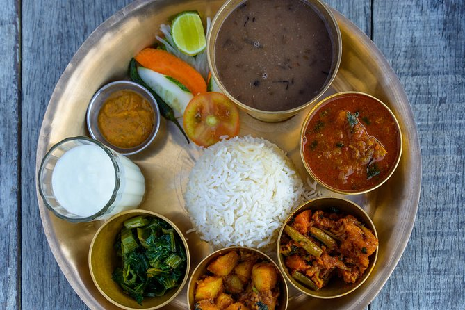 Virtual Dal Bhat Private Cooking Class from Kathmandu