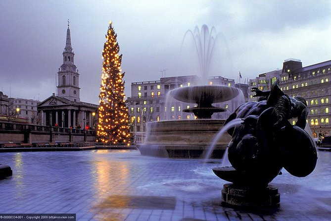 Sights and Sounds of London on Christmas Day with Sung Eucharist at St Paul's
