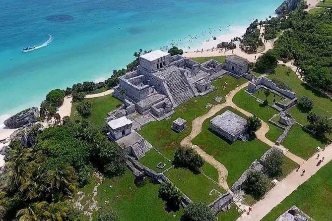 4X1 DAY Tulum Coba Cenote and playa del carmen