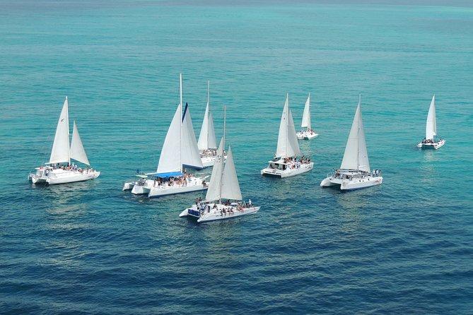 amazing day in catamaran and Isla Mujeres