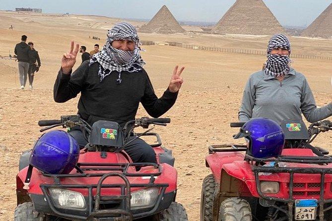 Day Tour to Sunset Desert Safari Trip By ATV Quad in Egypt