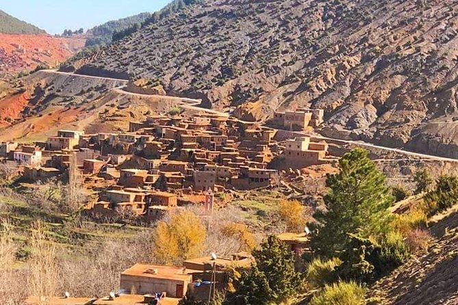 Atlas Mountains and Three Valleys & Waterfalls Guided Day Trip from Marrakech