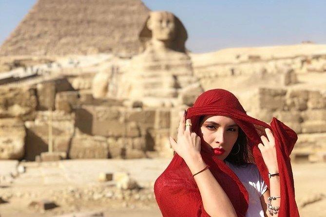 Giza Pyramids, Memphis City, Dahshur And Sakkara Pyramids, El-Moez Street And Dinner At Cairo Tower