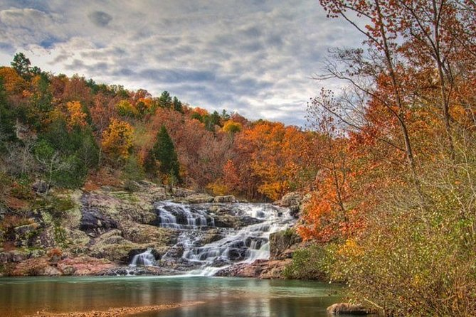 Private Bus Tour of Rocky Falls Klepzig Mill and Ozark Trail