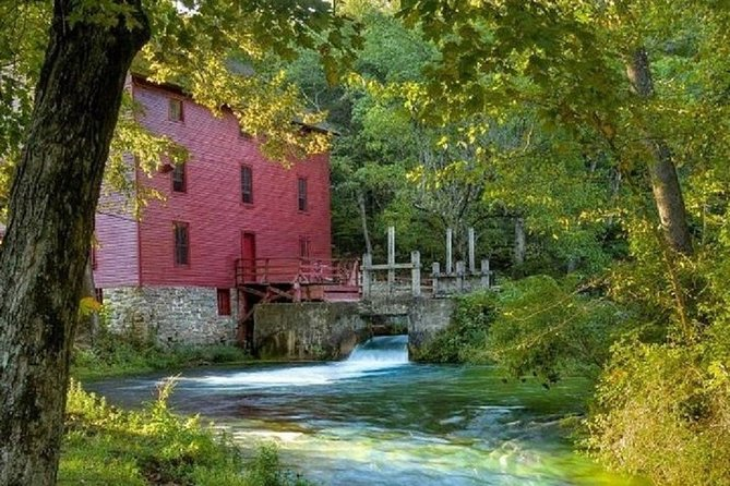 Private Alley Spring Grist Mill Tour through the Ozarks by Bus