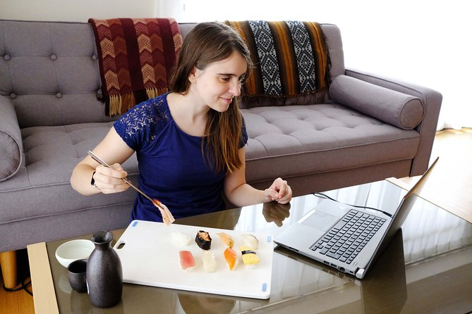 Online Sushi Making Workshop with Specialist Instructor
