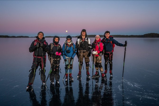 Full-Day Ice Skating On Natural Ice Experience in Stockholm