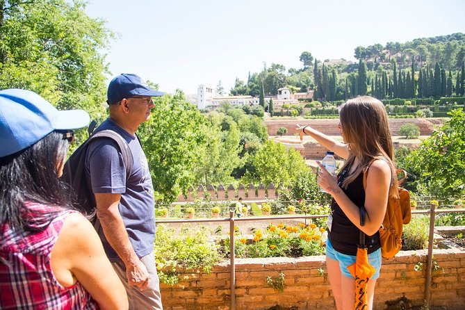 Alhambra with Nasrid Palace guided tour