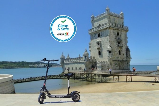 Lisbon: Belém Tour by E-scooter