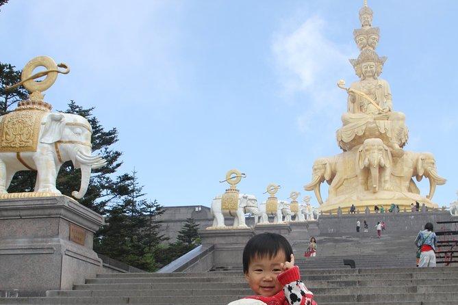7-Day Private Tour to Chengdu City Highlight, Mount Emei and Jiuzhaigou