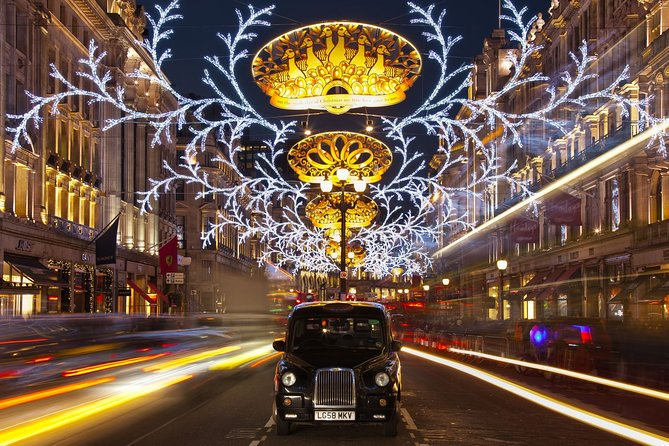 Christmas Lights London by Night Open Top Bus Tour