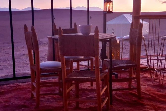 Agafay Marrakech desert tour with romantic dinner in Berber tents