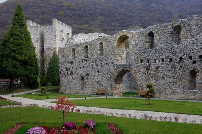 Manasija and Resava Cave Tour From Belgrade