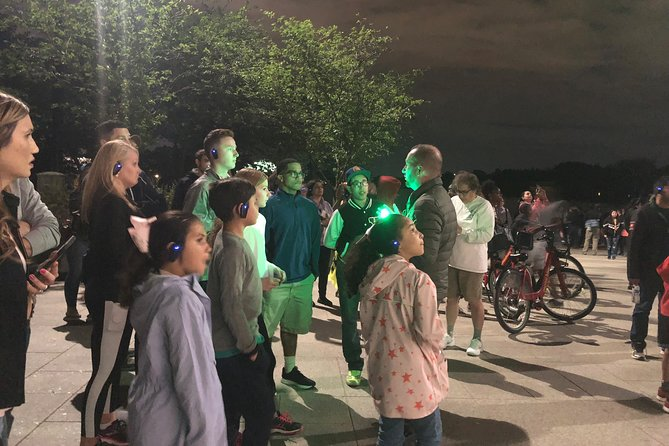 LED Magic Guided Night Tour - 3.5hrs with the use of Earpieces.
