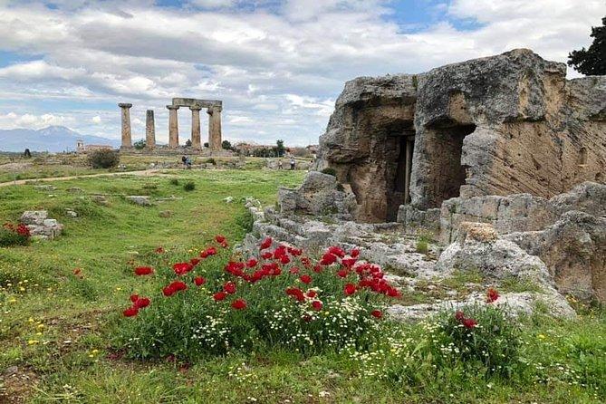 Mycenae Nafplio Epidaurus with lunch in a waterfront restaurant