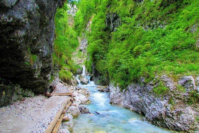 The Waterfalls of Martuljek Hike