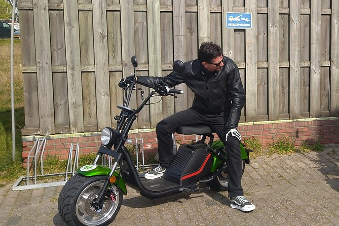 E-scooter for a day, enjoy the Netherlands