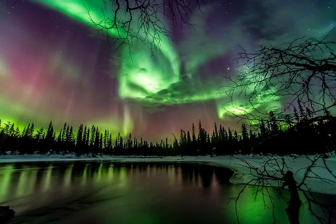 Reflections of the Northern Lights
