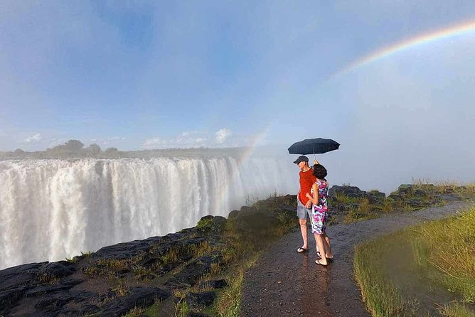 Victoria Falls Guided Tour with Hotel Pickup