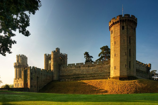 Warwick Castle including return train tickets from London