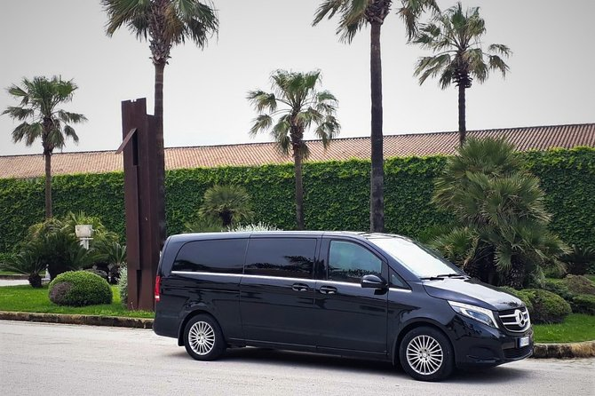 Private transfer from Palermo airport to Hotel del Centro or vice versa