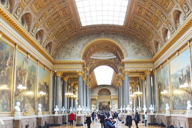 Versailles and the Louvre Tour with Skip-the-Line Access
