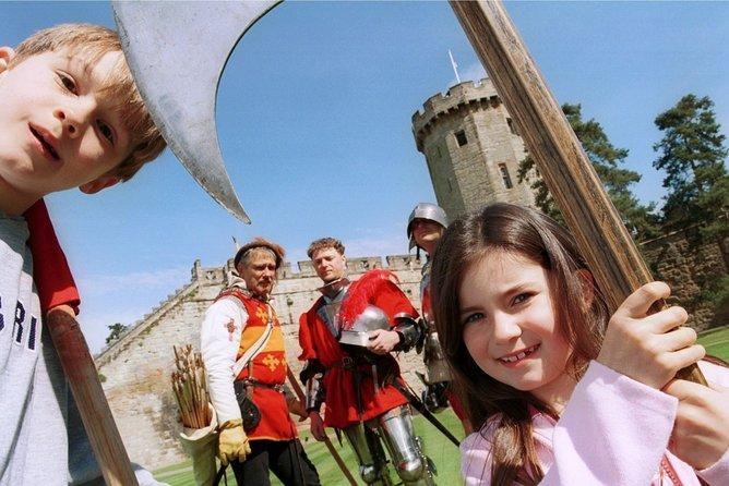Warwick Castle including return train tickets from London