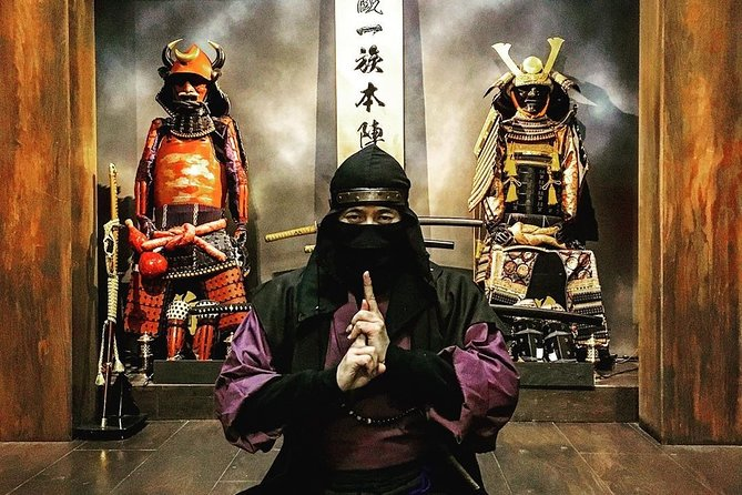 Interactive Ninja Experience, ONLINE 60 min,
