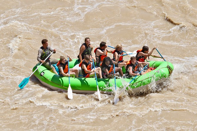 Rafting on the Moab Daily section of the Colorado River