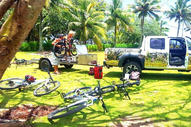 Rarotonga Guided Bike Tour with Lunch