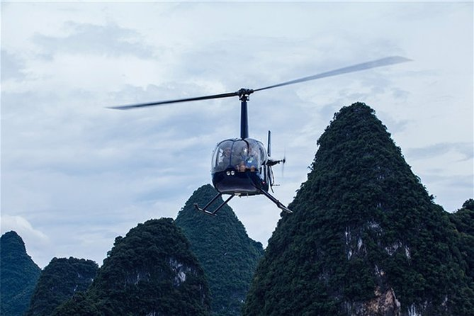 Guilin Yangshuo Helicopter Tour