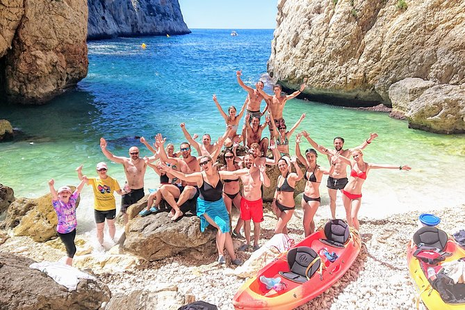 Sea Cave Kayak and Snorkel Tour in Javea