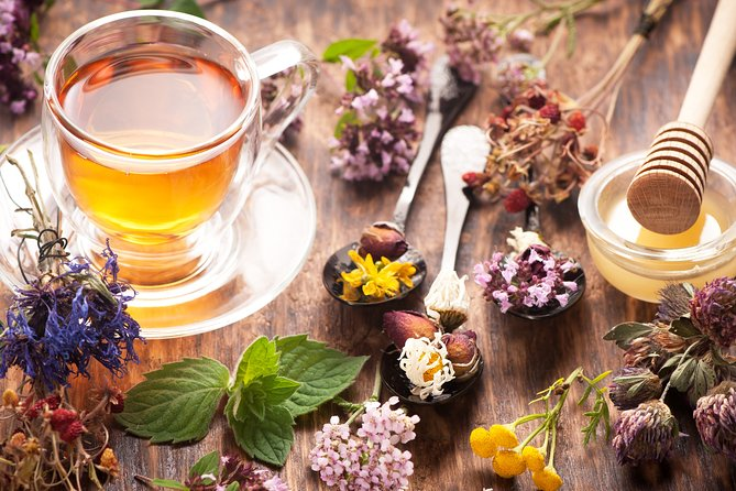 Herbal Delights: Virtual Lesson on Healing Herbs with Tea Delivery Included