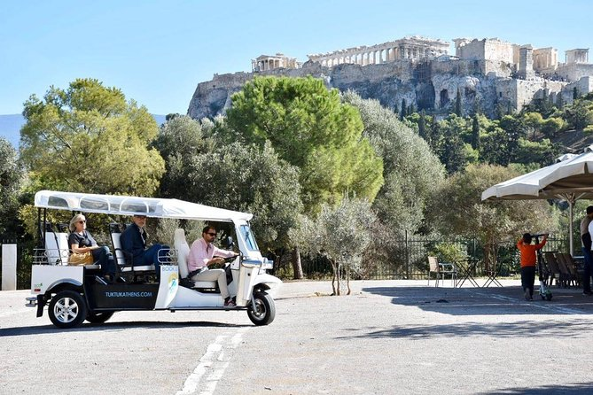 Tuk Tuk Athens Complete City Center Tour - 100% Electric (3 hours)