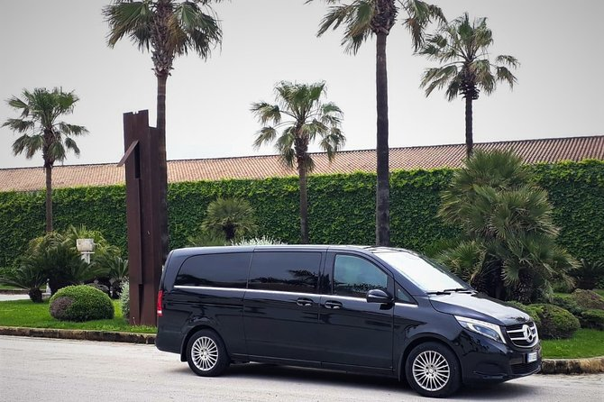 Private transfer from Palermo airport to Grand HOTEL Piazza Borsa or vice versa