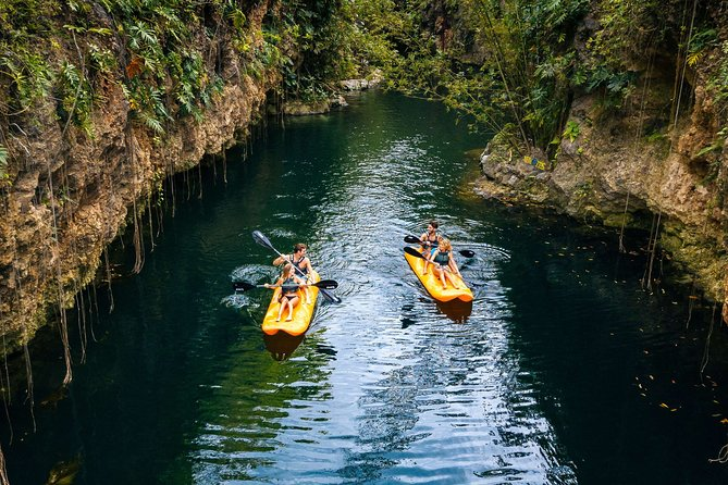 Xenotes Tour with Transportation Included