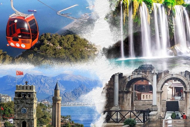 Antalya City Tour with Cable Car and Waterfalls